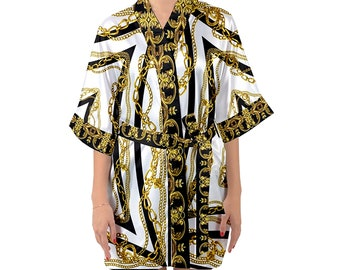 83d2b664e Gianni Versace Inspired Kimono Robes, Bridesmaids Robes Set of 6,  Bridesmaid Robes Set of 9, Set of 7 Bridesmaid Robes