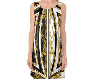 f6fb0cd2185 Gianni Versace Inspired Night Gown