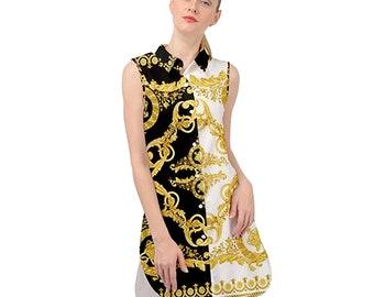 628e8d18431 Gianni Versace Shirt Dress Inspired