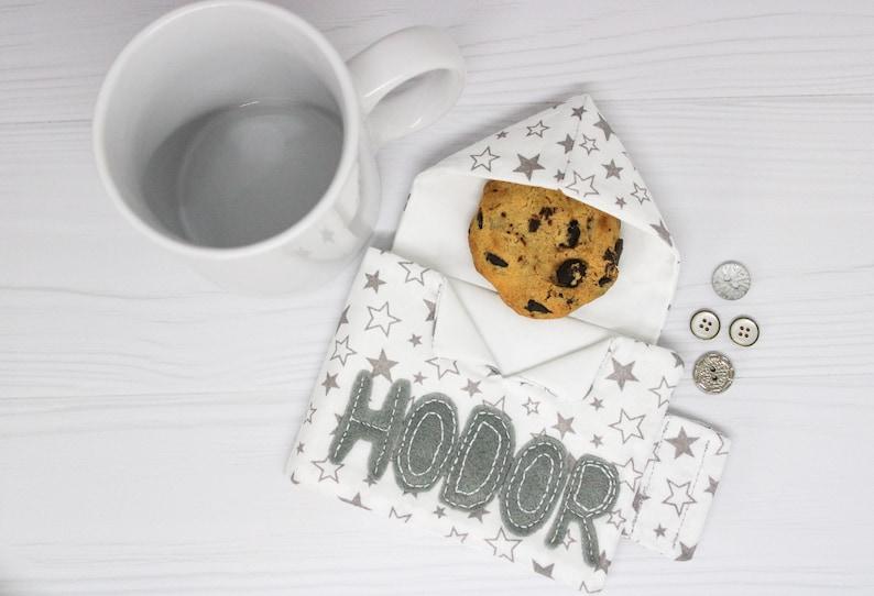 Personalized gift Game of thrones Tea cozy Hodor Coffee mug image 0
