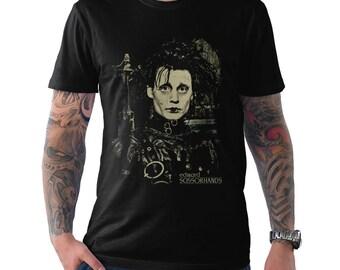 d19c8431f Edward Scissorhands Graphic T-Shirt, Johnny Depp Shirt, Men's Women's All  Sizes