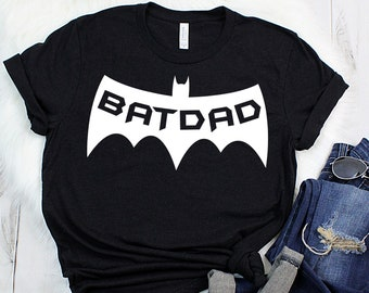 08e181d3a BATDAD t-shirt, Father's Day Gift, Graphic Tee, Hype Shirt Men, Batdad Shirt,  Superhero Minimalist Men Weeknd Clothing, Gift for Dad