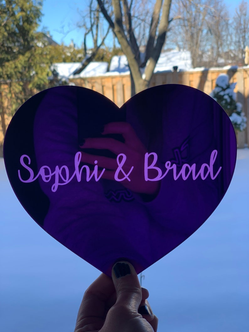 Personalized Gift |Valentines  Gift Mirror Acrylic Wall Decor Nursery D\u00e9cor Custom Name Event Decoration Personalized Name Sign