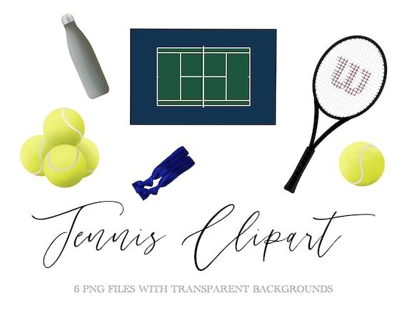 Tennis Clipart Tennis Png Clipart Tennis Clip Art Tennis Etsy