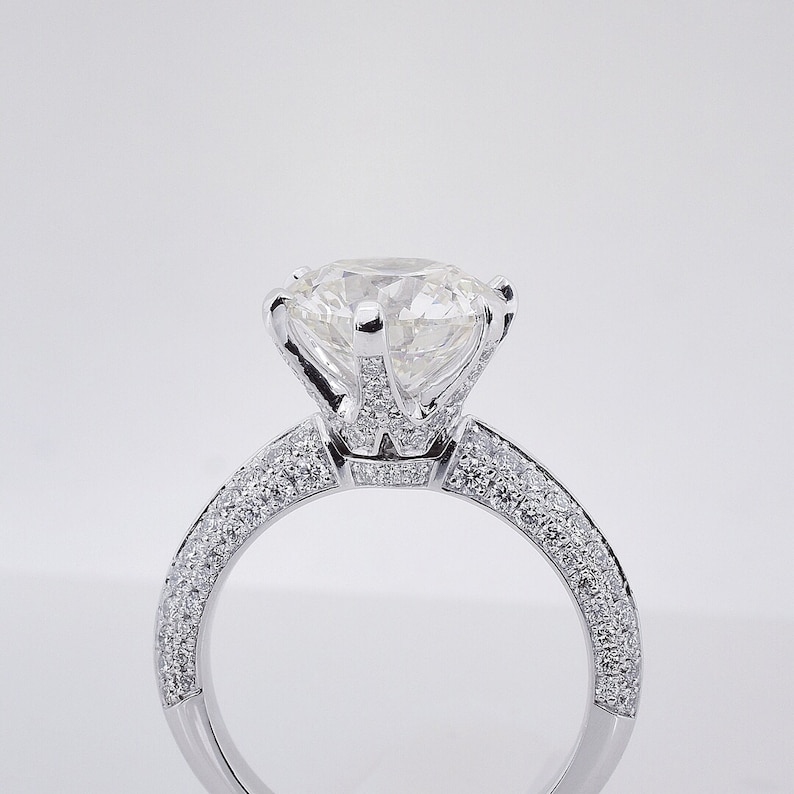 Details about  /1.50Ct Round Cut Diamond Gorgeous Solitaire Engagement Ring 14K Rose Gold Fin