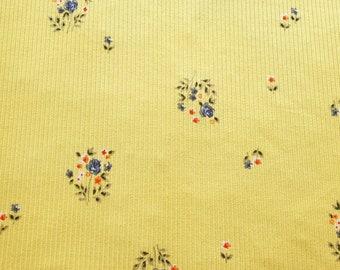 Jersey knit RIBBED Family Fabrics Pecan brown rib knit Jersey 4 way stretch 2mm rib.