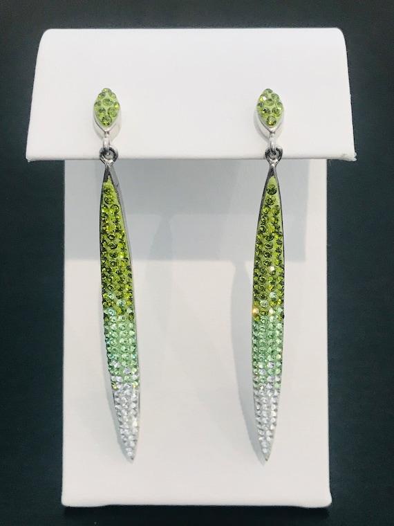 Swarovski Crystal Ombre Drop Earrings