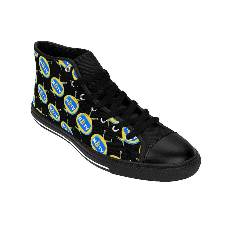 8165e2502f51d NAOMI SINGULARITY: Two Tone Men's High-top Sneakers