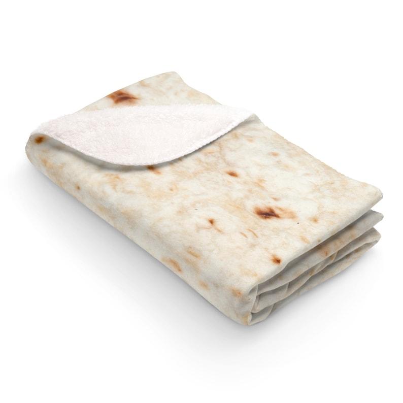 Burrito Blanket Tortilla Blanket Mexican Blanket Custom Blanket Best Friend Gift Housewarming Gift for Mom Fathers Day Gift Funny Blanket