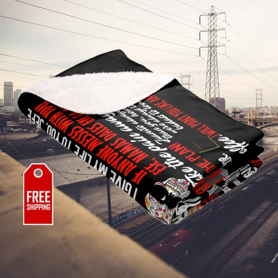 Marvelous Blood In Blood Out Blanket Bound By Honor Quotes Mexican Pride East Los Angeles La Onda Vatos Locos Chicanos Chicana La Raza Christmas Gift Theyellowbook Wood Chair Design Ideas Theyellowbookinfo