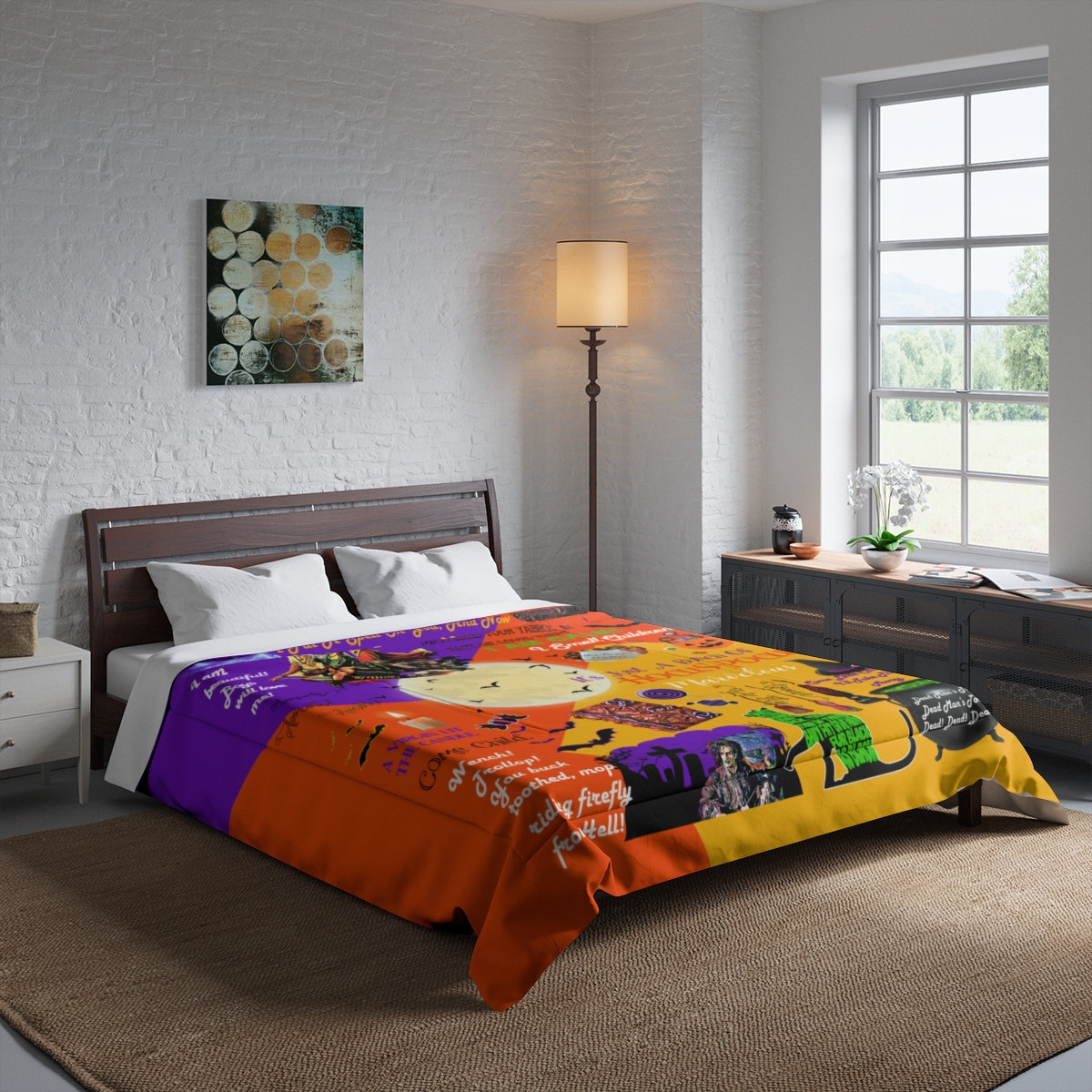 Hocus Pocus Comforter The Sanderson Sisters Halloween Comforter Hocus Pocus Gifts I Put A Spell On You Its Just A Bunch Of Hocus Pocus Hocus Comforter Hocus Pocus