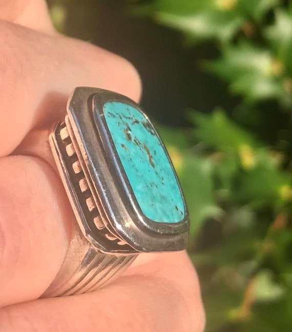 Konstantino Turquoise Greek Temple Sterling Silver