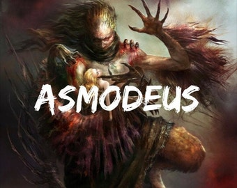 Asmodeus Hex, Curse, Spell, Portal, Pact, and Custom Listing
