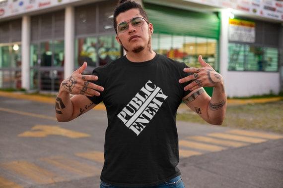 PUBLIC ENEMY 90s T Shirt, Public Enemy Rap VTG T S