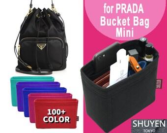 cff7bc0307 PRADA Bucket Mini Bag Organizer, für PRADA Eimer Tasche Mini Purse Insert  Organizer