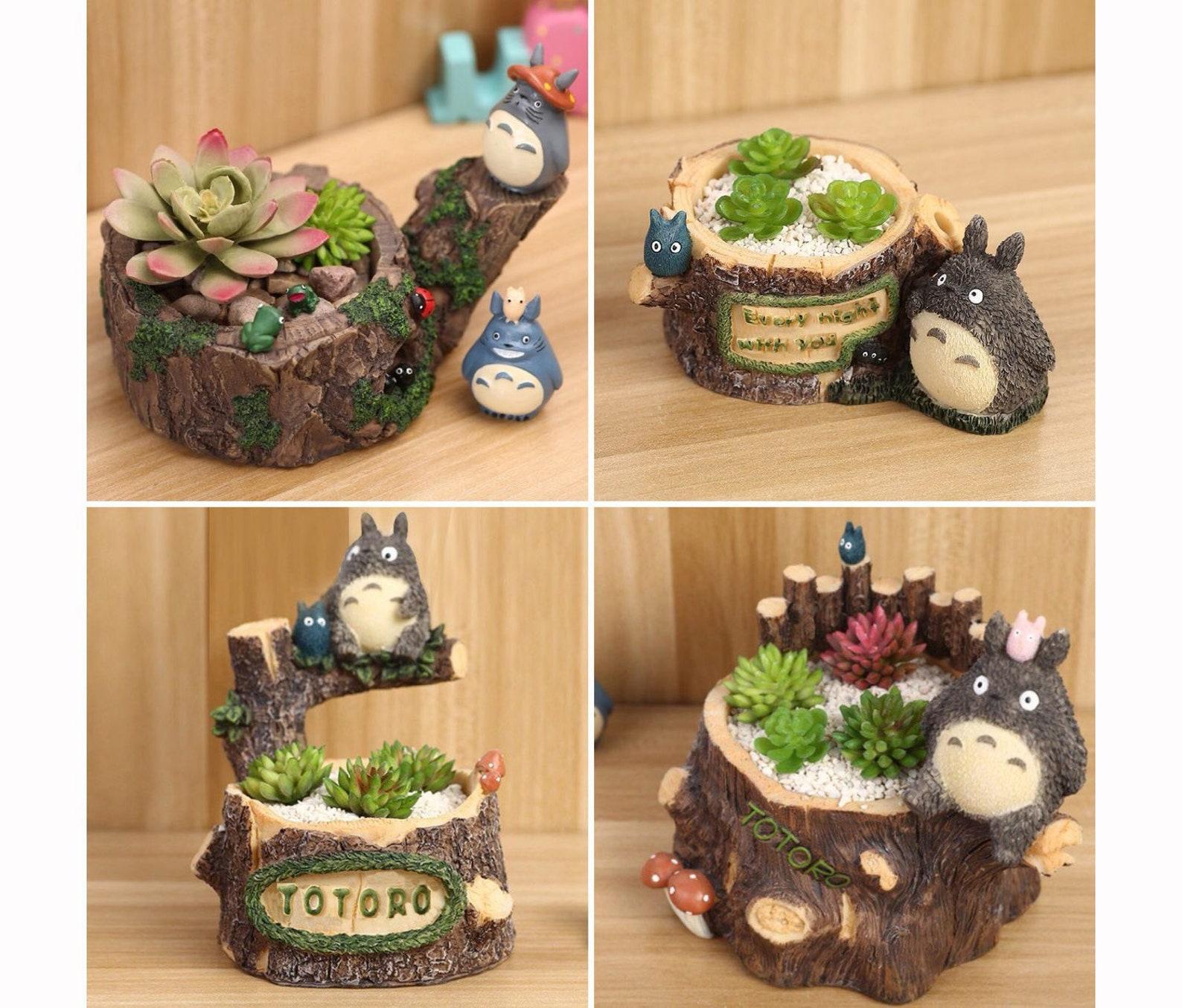 Totoro Mini Planter
