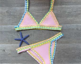 9eca063aaa6 Handmade Brazilian Crochet Bikini