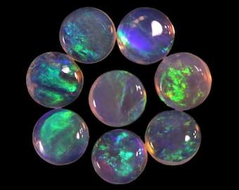3 X 5 MM Pears Original Australian Opal Opal  Lot All Size Flashy Multi Fire Australian Fire Opal Cabochon Calibrated Opal Wholesale Lot
