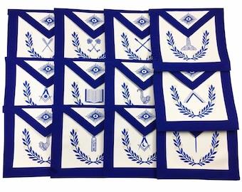 Masonic apron   Etsy
