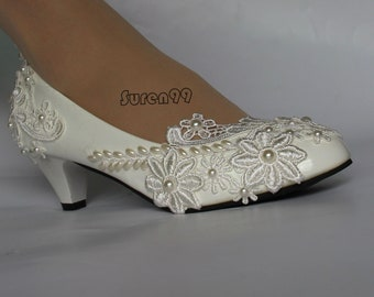 Boho Bridal Shoes Cream Low Heels Pumps Women Accessories Low Heels Casual Stylish Shoes Gift for Friend CREAM SUEDE SHOES