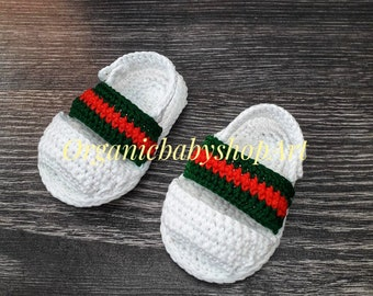 acf3566436945 Gucci baby booties | Etsy