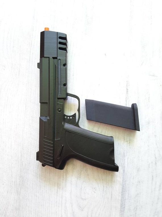 Lara Croft Pistole Pistole Waffe Aus Grab Raider Hk 9mm Genaue Etsy