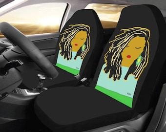 Locs Lady Car Seat Covers