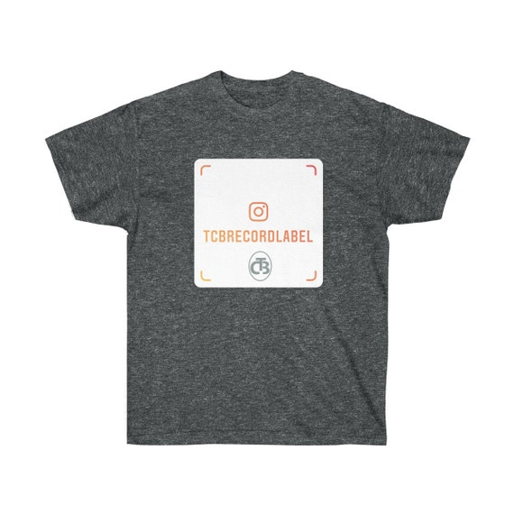 TCB RECORDS IG orange Unisex Ultra Cotton Tee ( logo appears on front and back)