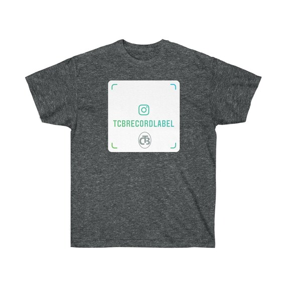 TCB RECORDS IG green Unisex Ultra Cotton Tee ( logo appears on front and back)