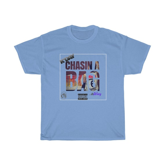 """K""""DAY """"CHASIN A BAG Unisex Heavy Cotton Tee"""