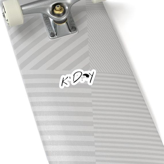 """K'DAY """"WAVY"""" -Cut Stickers"""