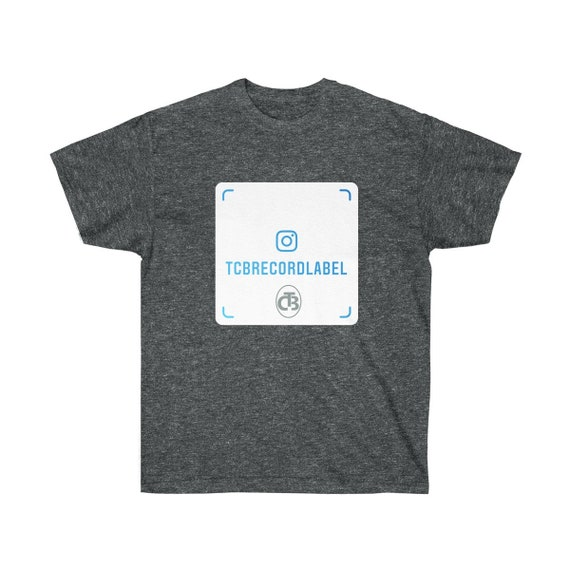 TCB RECORDS IG Unisex Ultra Cotton Tee ( logo appears on front and back)