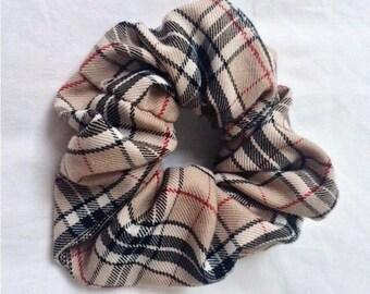 b1c141d6d6f Handmade BURBERRY Nova Check Style Scrunchies