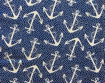 5879b48c839 Nautical Cotton Knit Fabric