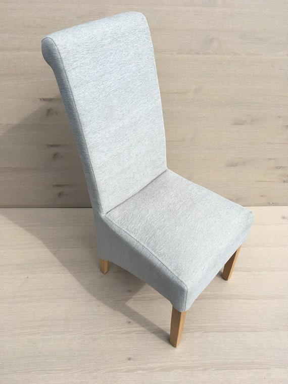 Outstanding 2 Duck Egg Blue Fabric Dining Chair Price For Two As Sold In Twos Cjindustries Chair Design For Home Cjindustriesco