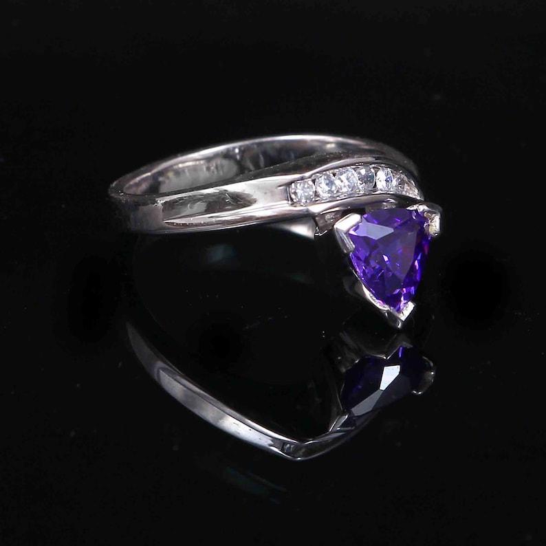 Gift Rings Amazing Handmade Amethyst Silver Ring Amethyst Silver Ring Amethyst Jewelry US 7 Amethyst Ring 925 Sterling Silver Ring