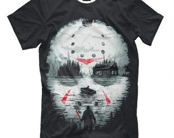 27603a81a Jason Voorhees Friday the 13th Art T-Shirt, Men's Women's Sizes