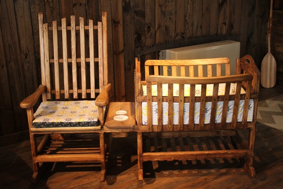 Swell Rocking Chair With Cradle Attachment Lamtechconsult Wood Chair Design Ideas Lamtechconsultcom