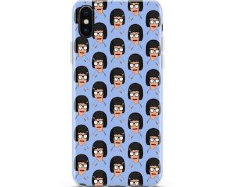 Bobs Burgers Tina on Butt Mountain 2 iphone case