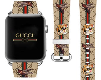 5de6199d685 Inspired by Gucci Apple Watch Series 4 Tiger iWatch Band Bee Watch 38mm  iWatch Strap Apple Watch 42mm iWatch 44mm band 40mm Leather band