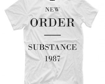 1cab62889 New Order Substance T-Shirt, Men's Women's All sizes
