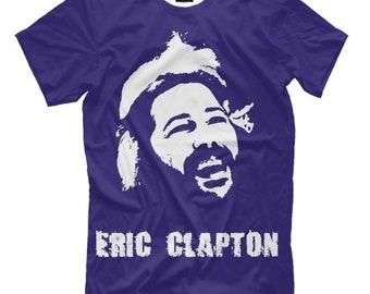 405896932 Young Eric Clapton Blues T-Shirt, Men's Women's All sizes