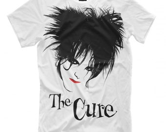 ae739196a The Cure Robert Smith Rock T-Shirt, Men's Women's All sizes
