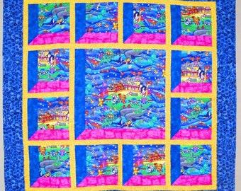 Christmas Attic Window Quilt Pattern.Attic Window Etsy