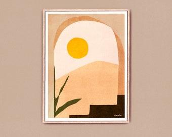 Art print | Desert Sunset