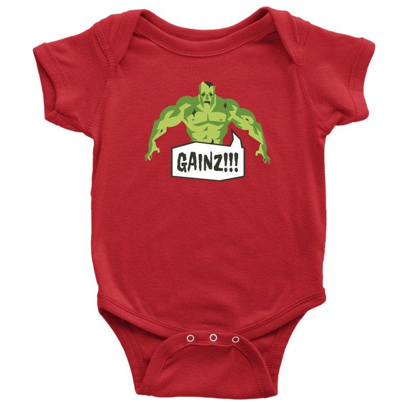 Gainz Baby Bodysuit Baby Bodysuit