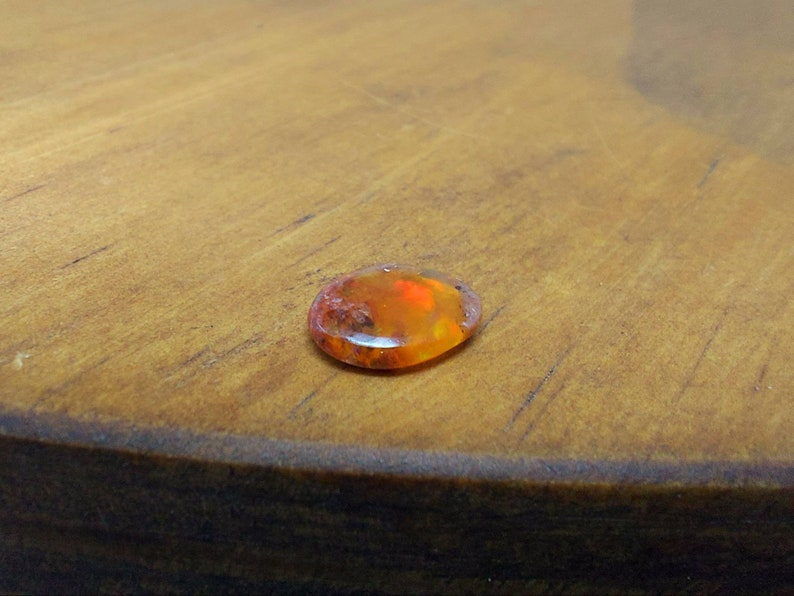 Mexican fire opal cabochon for jewelry making or home decoration  meditation stone  fire opal cabochon fire opal matrix  BT62