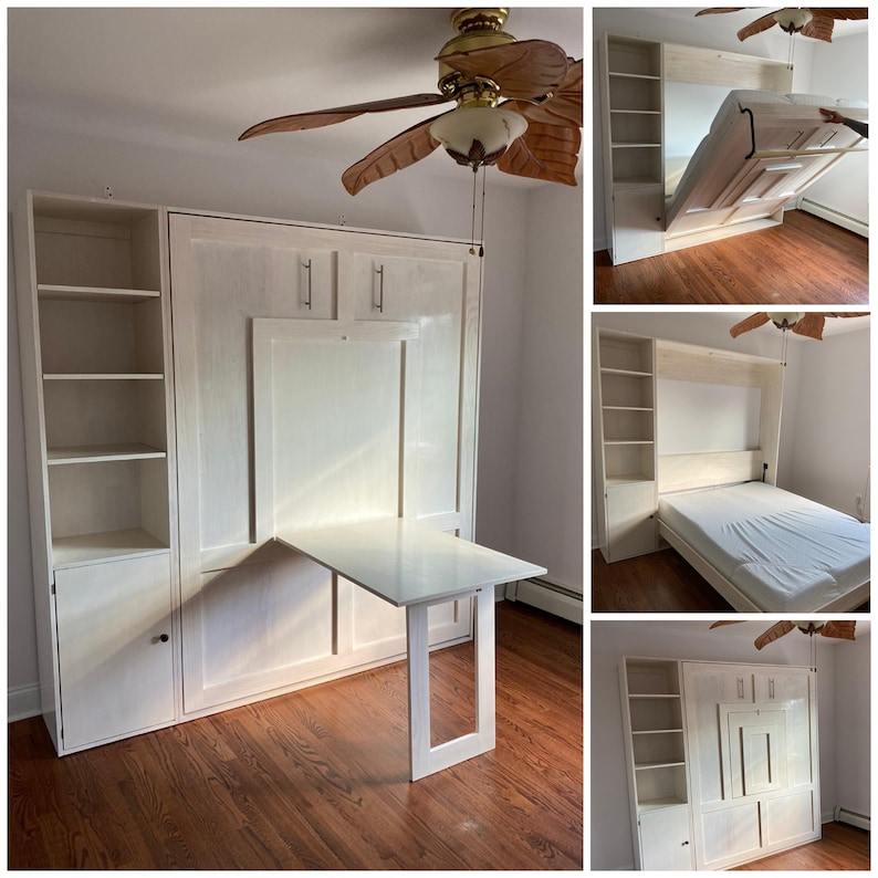 Master Murphy Bed Maker / Wall Bed or Loft Bed of Any Size image 6