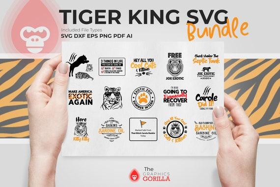 Carole Baskin Song SVG Cut file Tiger King Svg Joe Exotic 2020 SVG Hey All You Cool Cats and Kittens SVG Tiger King Shirt Designs Svg Png