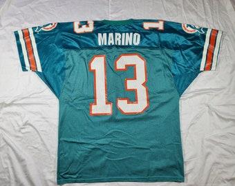 20fbab05656 Vintage Wilson Jersey Dan Marino 13 Size XL